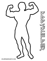 coloring page of boy body az coloring pages likrkeket