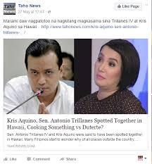 Kris Aquino Meme - trillanes and kris aquino meet in hawaii memebuster