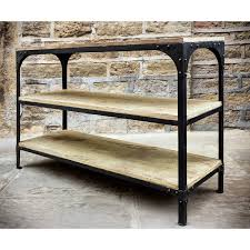 Industrial Shelving Unit by Wooden Shelving Units Best 20 Diy Storage Shelves Ideas On