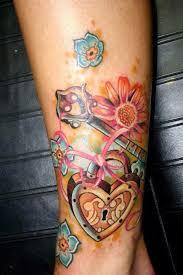 129 best keys and locks tattoos ideas images on pinterest