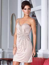 robes de cocktail pour mariage robe de cocktail pour mariage fourreau epaule asymétrique court