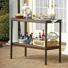 Fortunoff Backyard Store Coupon Outdoor Buffet Table Patio Furniture Wicker Console Resin Serving