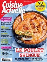 magazine cuisine actuelle cuisine actuelle mars 2018 télécharger pdf magazine gratuitement