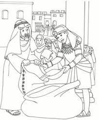 joseph brothers coloring joseph forgives
