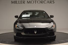 maserati ghibli black 2017 maserati ghibli nerissimo edition s q4 stock w478 for sale