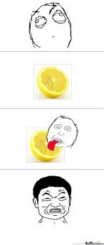licking lemon by sky10 meme center