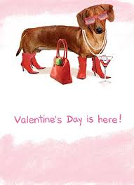 funny valentine u0027s day ecards dogs cardfool free printout included