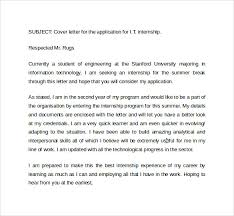internship cover letter cover letter for an internship internship