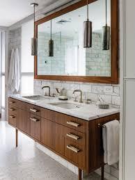 bathroom wonderful white brown stainless glass modern design