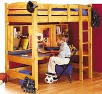 loft bed plans for kids bed plans diy u0026 blueprints