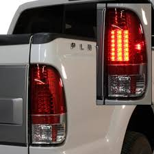 2008 ford f250 tail light bulb ford f250 super duty 2008 2010 chrome projector headlights and red