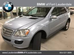 mercedes of fort lauderdale fl used mercedes m class for sale in fort lauderdale fl 210