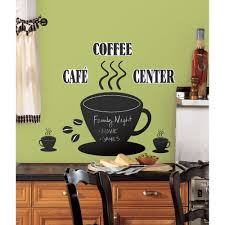 roommates coffee cup chalkboard peel and stick wall decals roommates coffee cup chalkboard peel and stick wall decals walmart com