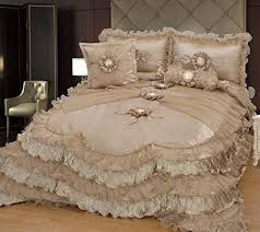 amazon black friday bedding best 25 ruffled comforter ideas on pinterest ruffle bedding