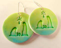 earrings for sensitive ears australia nativity earrings etsy