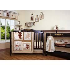 Geenny Crib Bedding Geenny Teddy 13 Crib Bedding Set Walmart