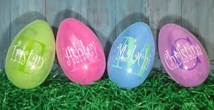 personalized easter eggs jumbo personalized easter eggs easter egg and cricut