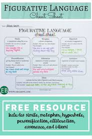 best 25 figurative language ideas on pinterest alliteration