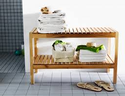 Ikea Luggage Rack Create A Spa Feeling In Your Bathroom With The Molger Bench It