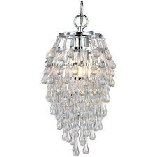 Non Hardwired Chandelier Hardwired In Chandeliers Lighting The Home Depot