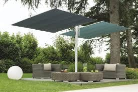 Free Standing Awning Contract Patio Umbrella Fabric Aluminum Swiveling Flexy