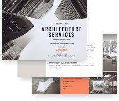 Free Online Architecture Design by Architecture Proposal Template Free Sample