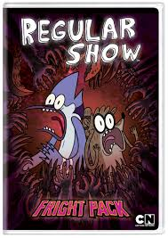cartoon network dates u0027the regular show fright pack u0027 for