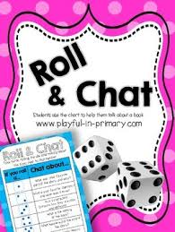 printable question dice freebie roll and chat reading comprehension dice game by playful