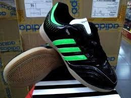 Jual Adidas Anak sepatu futsal anak adidas 11questra hitam hijau chexos futsal