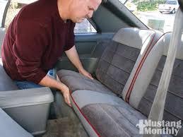 fox mustang seats reupholstering mustang seats mustang monthly magazine