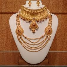 gold light weight hyderabad bridal jewellery hyderabad bridal