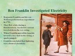 ben franklin light bulb electricity current electricity currents circuits series and