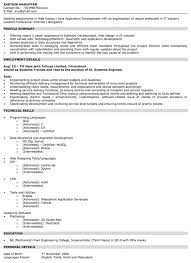 Be Mechanical Engineering Resume Resume Education Section In Progress Examples Of Education