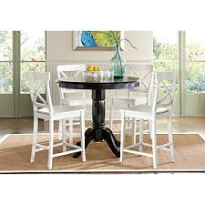 brynwood black 5 pc counter height dining set dining room sets black