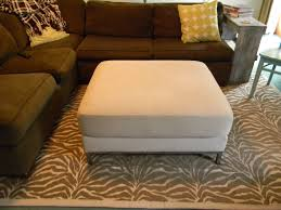 Fabric Rug Remodelaholic How To Make A Fabric Rug Tutorial