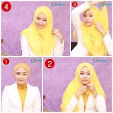 tutorial hijab turban untuk santai pin by astria utami on hijab tutorial pinterest hijab tutorial