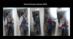 edward kenway costume edward kenway costume wip by mitchthechief on deviantart