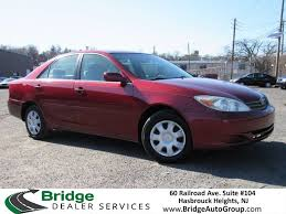 toyota dealer services 2002 toyota camry le hasbrouck heights nj 23142465