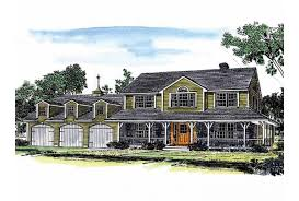 eplans farmhouse eplans farmhouse house plan farmhouse with attached three car