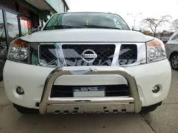 nissan armada off road parts vanguard 04 14 titan front bull bar bumper protector guard s s ebay