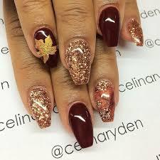 october nails fall nail colors thanksgiving nails