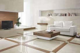 Fair  Stone Tile Living Room Design Decorating Inspiration Of - Floor tile designs for living rooms