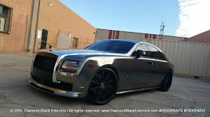 roll royce vorsteiner press diamond black exteriors dbx wraps