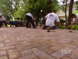 Patio Foundation Best Paver Patio Foundation Tips Diy Network Youtube