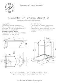 Tub Faucet Height Clawfoot Tub Dimension U2013 Seoandcompany Co