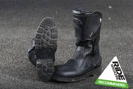ride tech motorcycle boots boots mcn