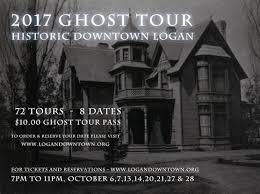 ghost tour logan downtown