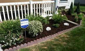 awesome garden design ideas for front of house small flower beds