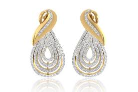 diamond earrings with price buy aashika gold diamond earring online in india at best price