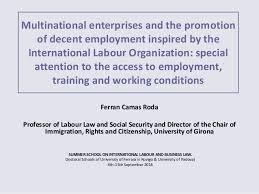 Universities As Multinational Enterprises The Multinational Multinational Enterprises And The Promotion Of Decent Employment